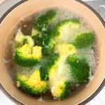 ブロッコリーのゆで汁を捨てるのはもったいない!ビタミンや旨味が凝縮された万能だしに大変身!