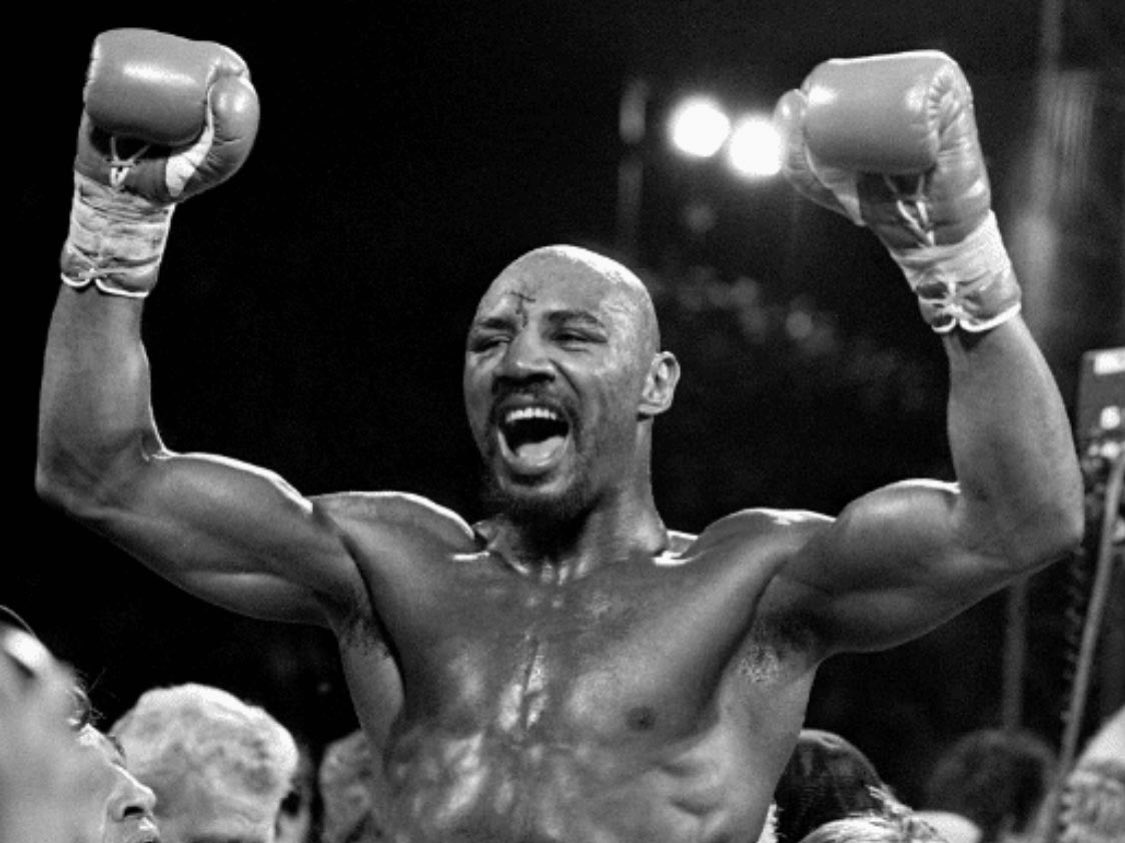 Rest In Peace, Marvelous Marvin Hagler. Thank you for all the greatness you brought to boxing and for all you gave in and out of the ring. Thoughts, prayers, and condolences to the Hagler family   #boxing #icon #legend #boxer #worldchampion #wildcardboxing @FreddieRoach @WCBstore https://t.co/lAfdYAaynO