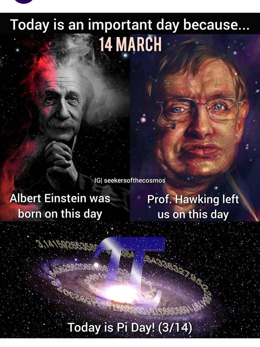 """Suman Sadhukhan on Twitter: """"Today is one of the greatest day in human  history because in this day i.e 14 th March the great physicist Albert  Einstein bron and another great physicist"""