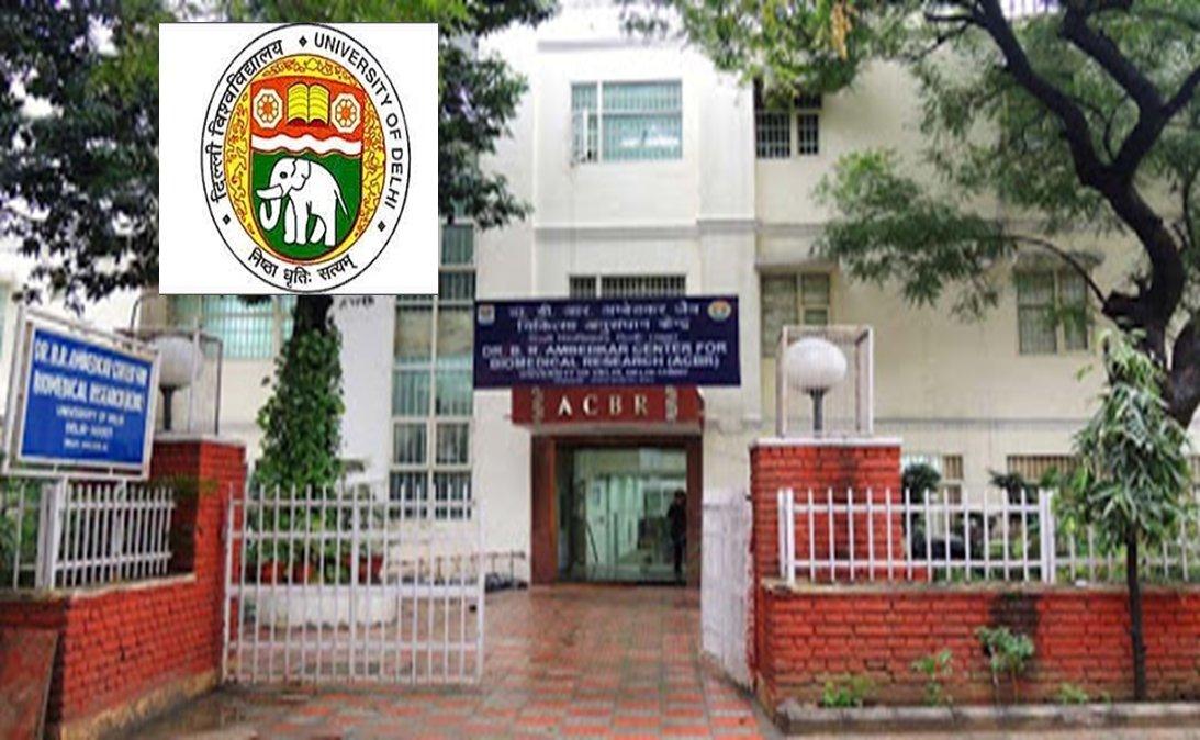 Research Associate in University of Delhi: Apply by 31 March 2021