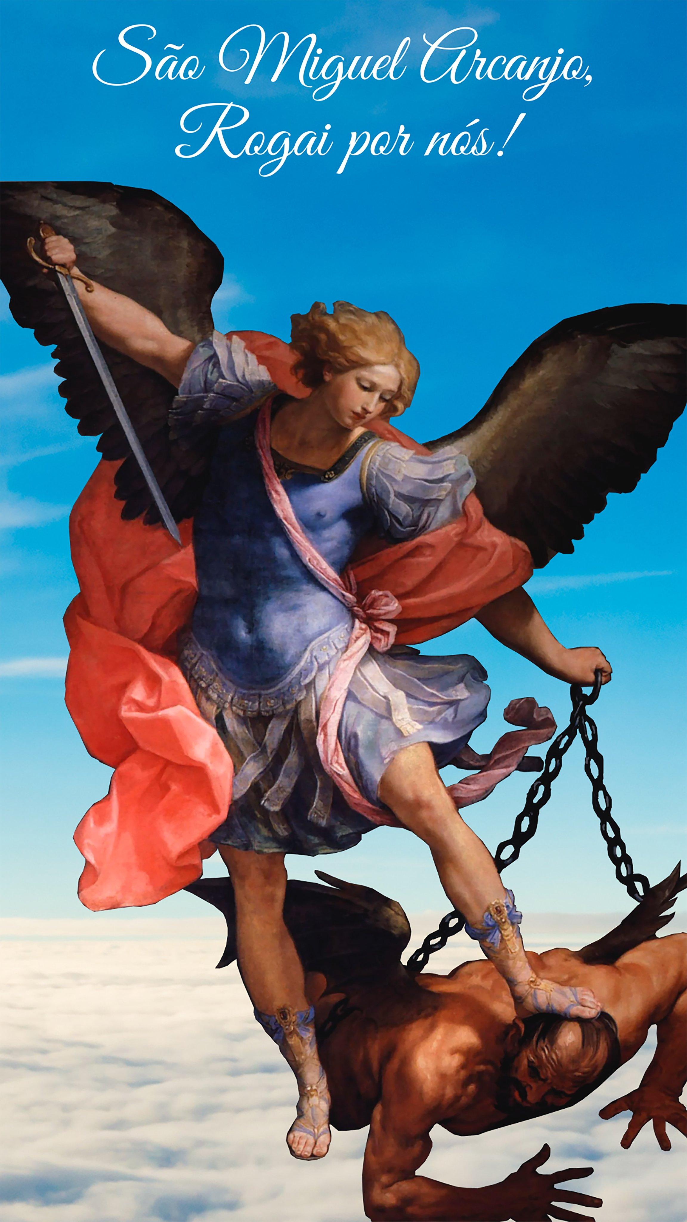 Wallpaper de São Miguel Arcanjo