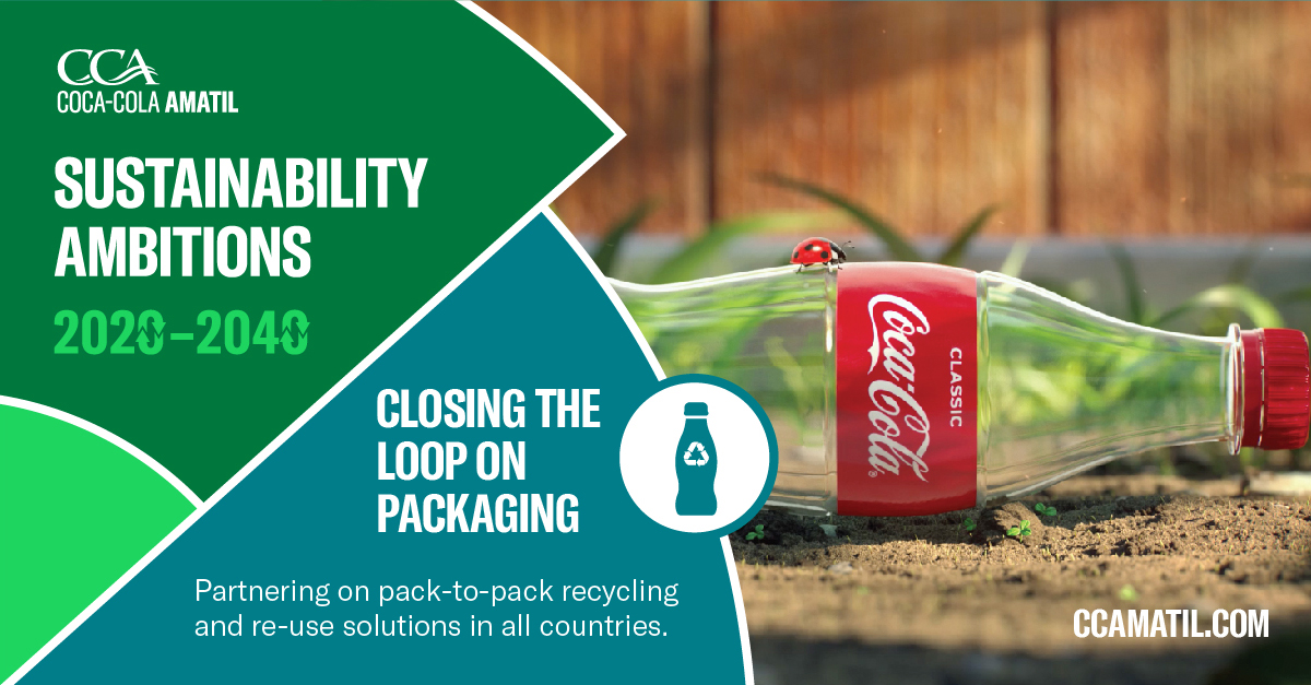 Reducing plastic in the environment is the right thing to do. We have bold new ambitions to close the loop on our packaging by 2030. Australia's #NationalPlasticsPlan creates momentum towards a circular economy. We support it and the impact it will have. @sussanley#TrevorEvans