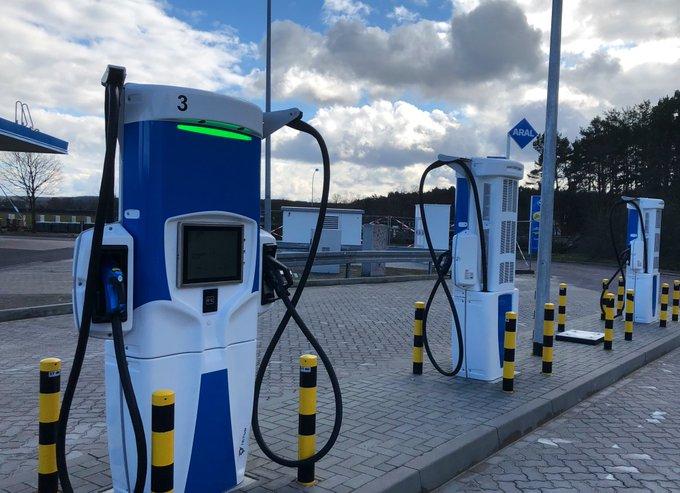 Elektroautos schnell aufladen bei ARALdeutschland? Jetz