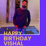 "Image for the Tweet beginning: Wishing ""Vishal Kumar"" a very"