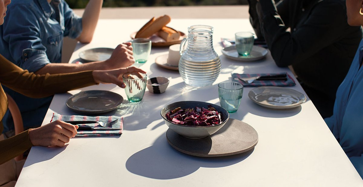 #Caesarstone introduces the first ever collection of outdoor #quartz surfaces, with elevated outdoor living in mind caesarstone.co.uk/latest-news/pr… #outdoorliving #outdoorfurniture #greatoutdoors #outdoorkitchens