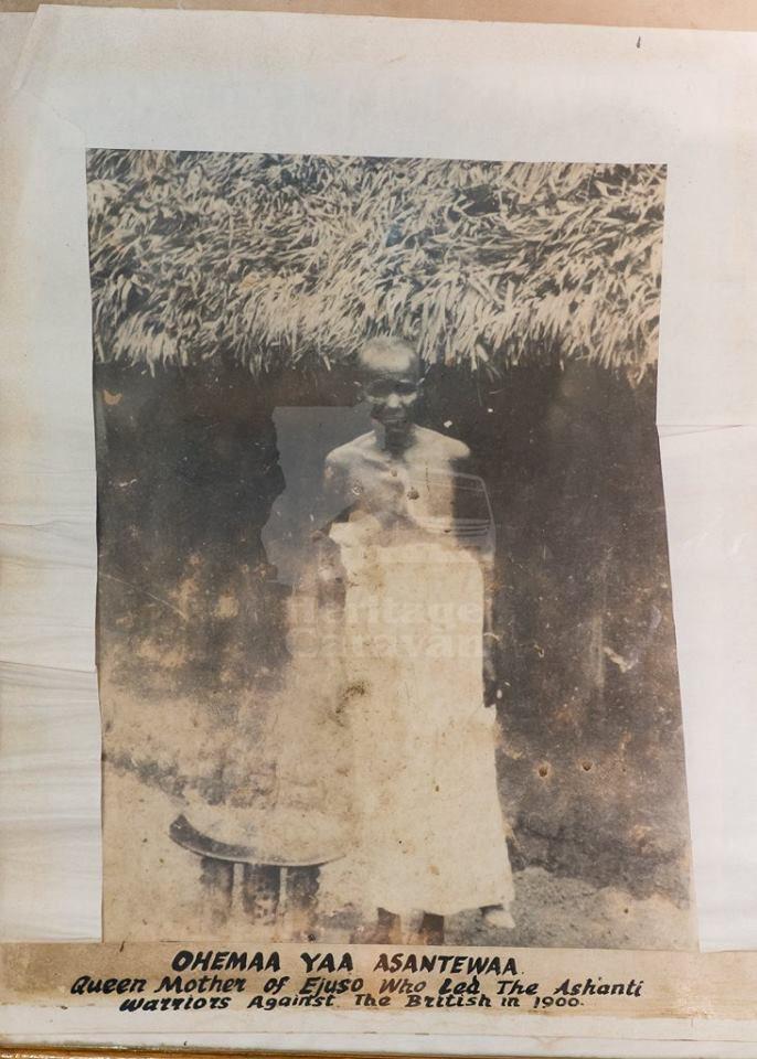 REal Image of Yaa Asantewaa