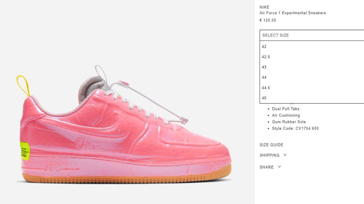 Restock via SlamJam: Nike Air Force 1