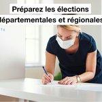 Image for the Tweet beginning: Préparez les élections régionales et