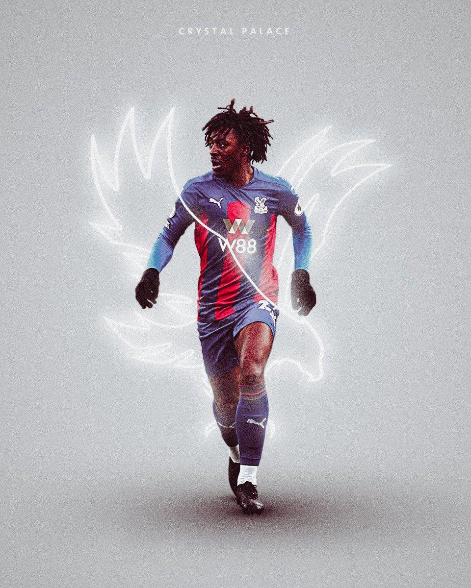 Crystal Palace // Eze  @CPFC @EbereEze10  #smsports #minimalism #GraphicDesign #PremierLeague https://t.co/D2Pva9CisQ