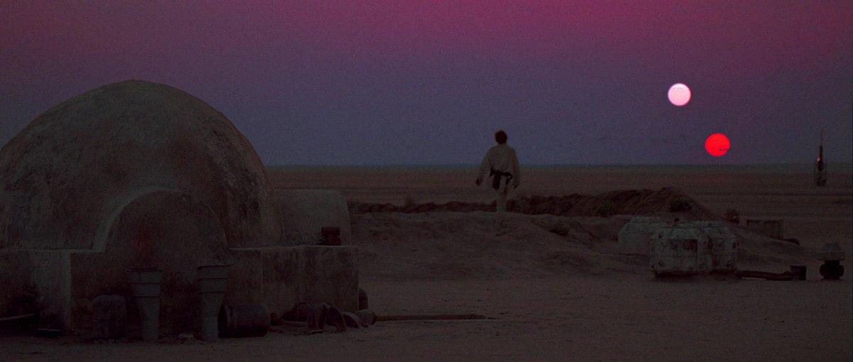 Star Wars Holocron On Twitter Binary Sunset