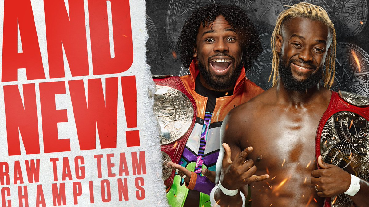 The New Day Wins Tag Team Titles