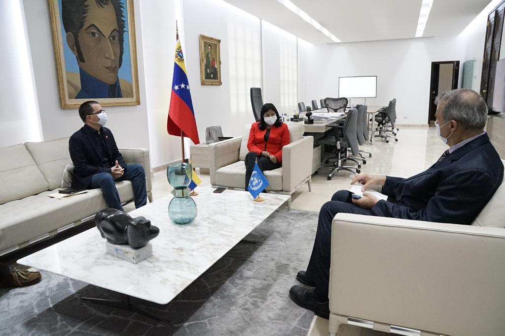 Venezuela y OPS impulsan estrategias para combatir al Covid-19