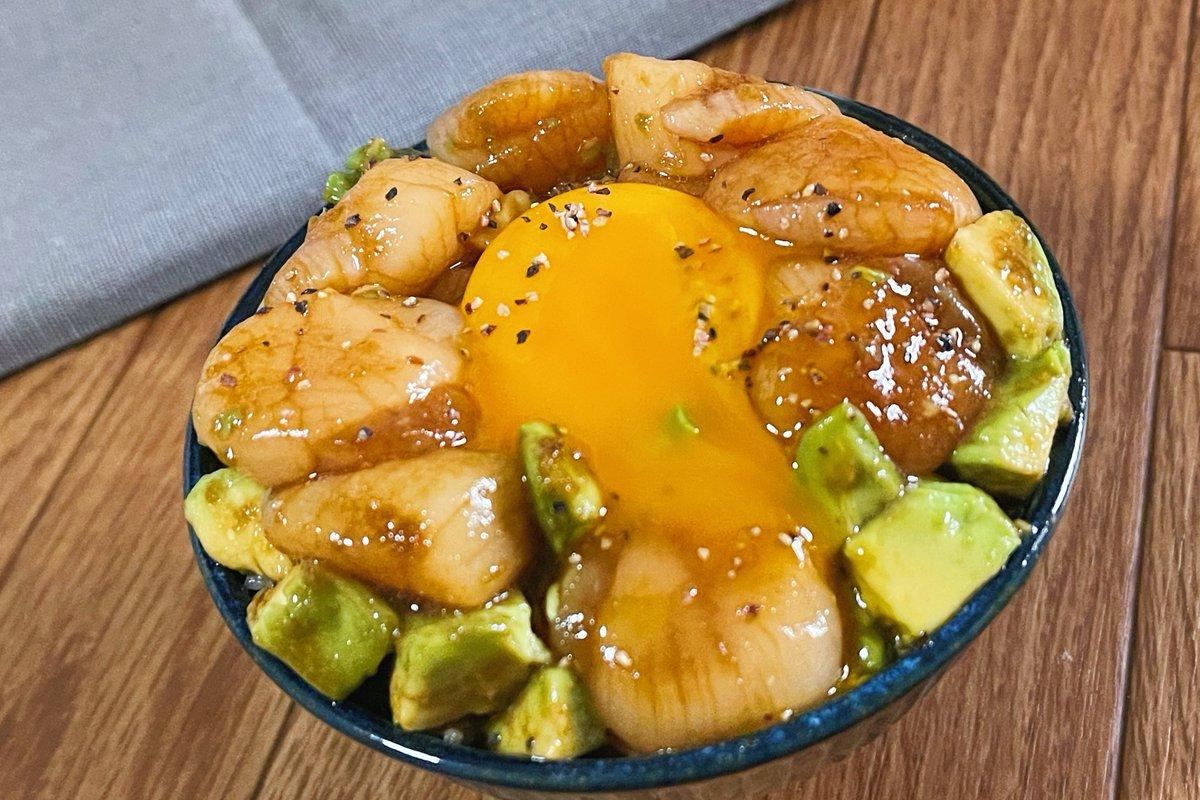 アボカドやホタテが好きな人は是非!絶品ポキ丼レシピ!