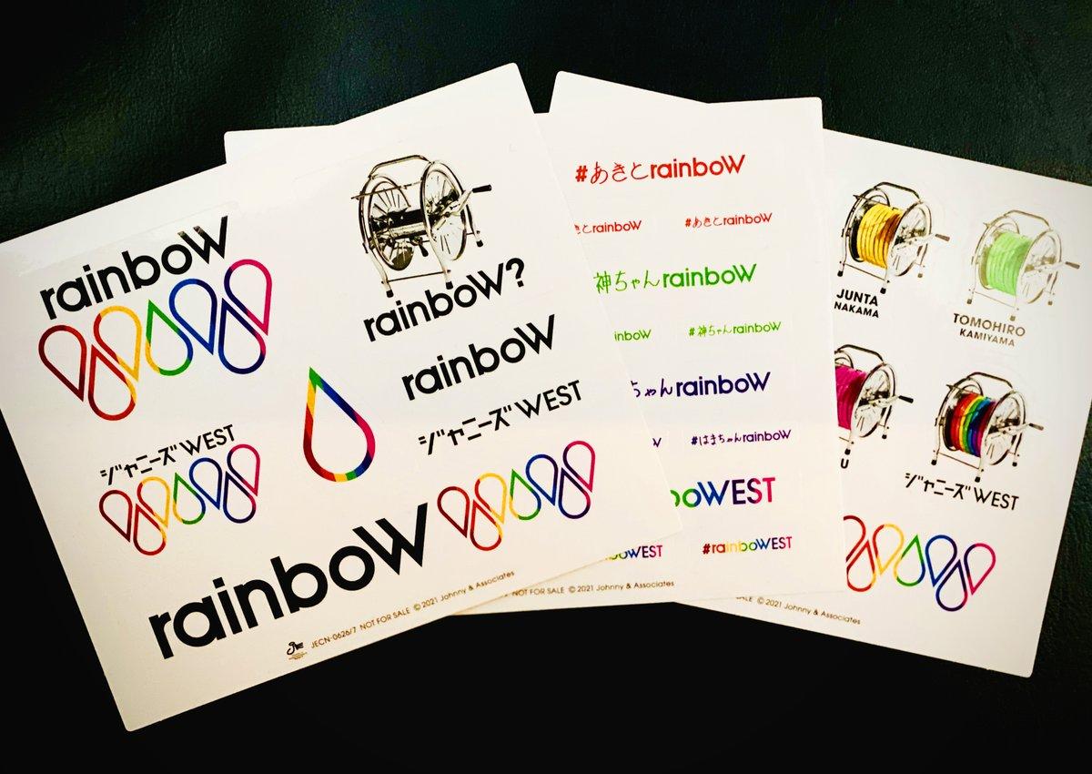 West rainbow ジャニーズ ジャニーズWEST rainboW 2021