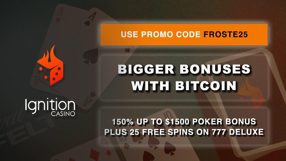 bitcoin poker bonus)