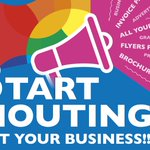 Image for the Tweet beginning: START SHOUTING about your business