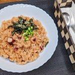 フライパンひとつで作れちゃう絶品料理!たこ飯のレシピ!