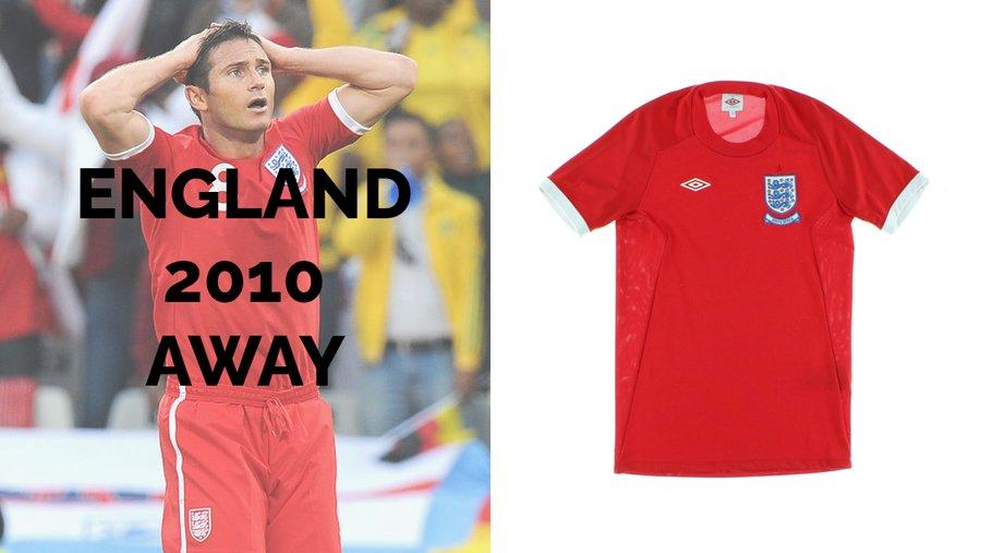 England 2010 Away
