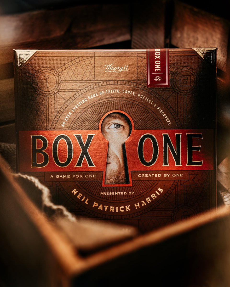 💥 Box ONE is BACK. The game sold out at Target stores nationwide, twice. But today, it's back in stores!Into puzzles, trivia, codes, and escape rooms? Solve Box ONE. 🌎 For those outside of the USA, you can also get it online at  @target@theory11#boxone