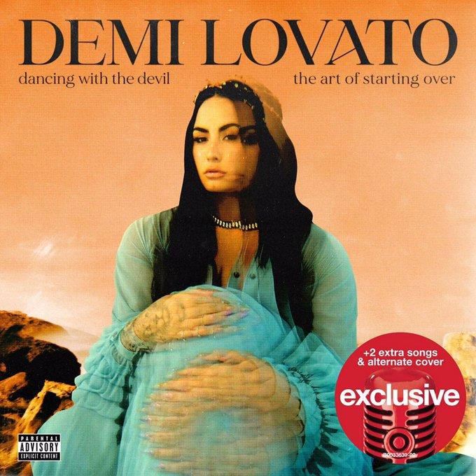 """VISIONÁRIA! Demi Lovato anuncia mais DUAS novas versões para seu novo álbum """"The Art Of Starting Over"""""""