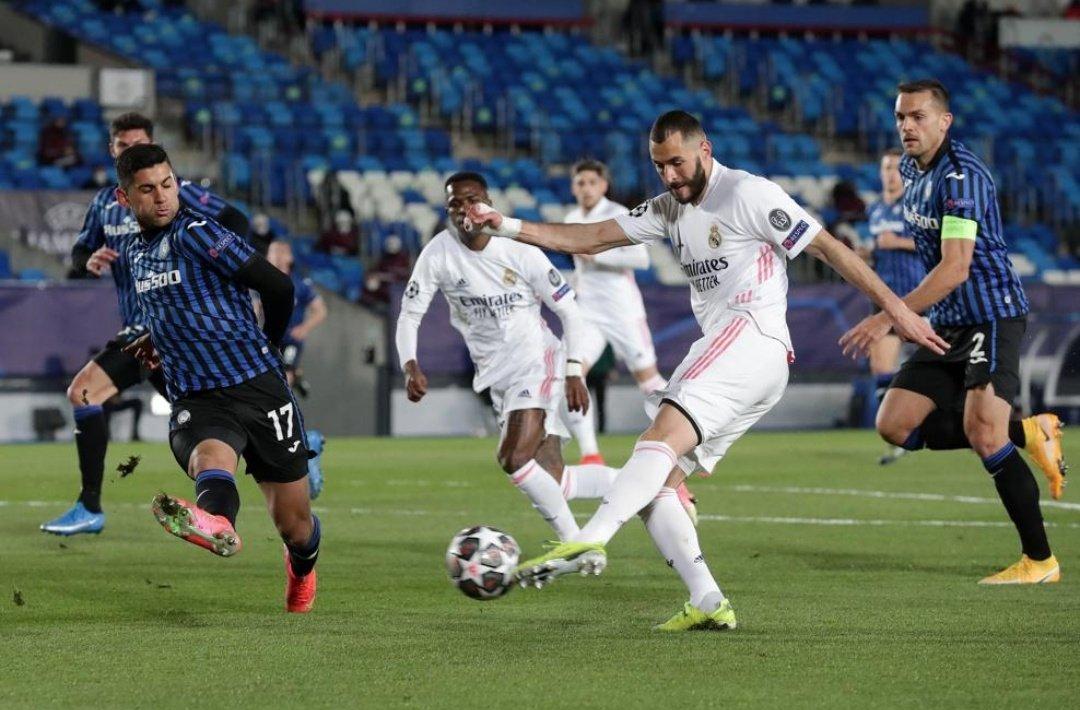 ريال مدريد إلى نهائي دوري ابطال اوروبا على حساب أتلانتا