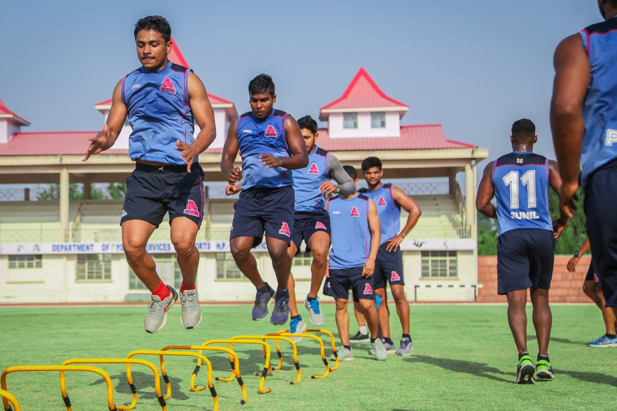 Just start. You'll figure out the rest along the way.  #PantherSquad #JaiHanuman #TopCats #JaipurPinkPanthers #JPP #Jaipur #vivoprokabaddi