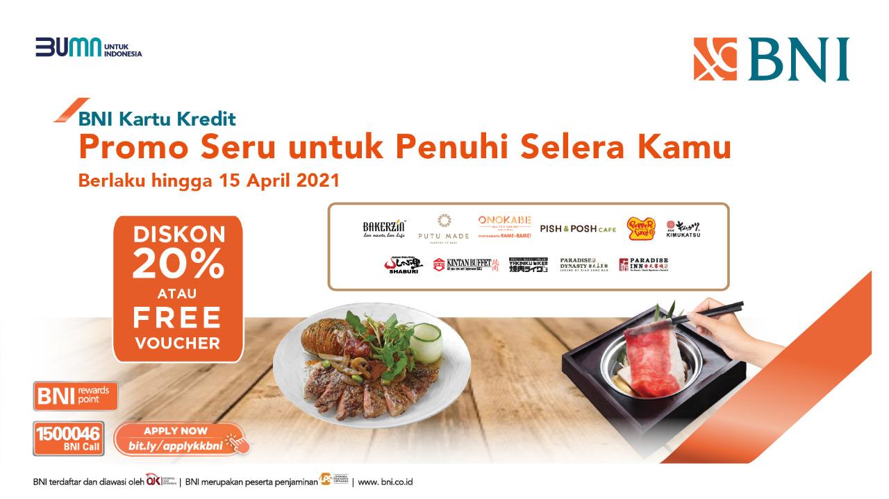 Pt Bank Negara Indonesia Persero Tbk On Twitter Kamu Belum Punya Kartu Kredit Bni Tinggal Apply Online Aja Dan Nikmati Promo Promo Menarik Bni Lainnya Mudahnya Proses Pengajuan Kartu Kredit Bni Melalui Online Promo kartu kredit bni 2021