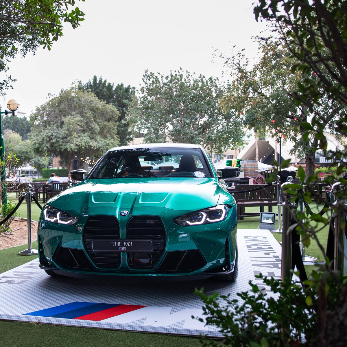 Why look for gold, when you can have it all green? 🍀   Happy St. Patrick's Day!  #BMWM3 #BMWAGMC  #StPatricksDay @DDFTennis #DDFTennis