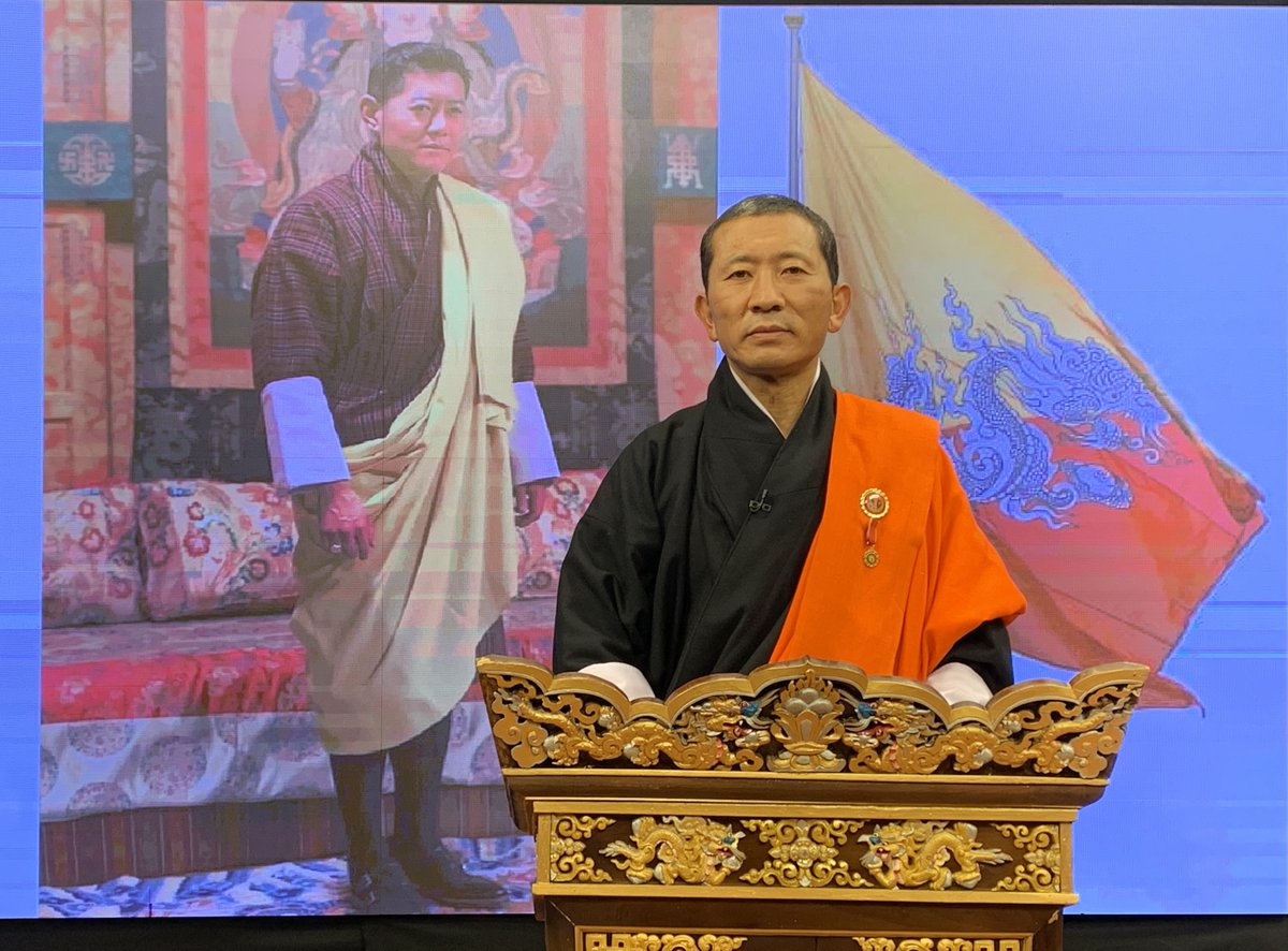 """PM Bhutan on Twitter: """"Vaccine update The COVID-19 vaccination will be  rolled out in the country starting March 27, 2021. The auspicious date is  determined in consultation with the Zhung Dratshang. Prime"""