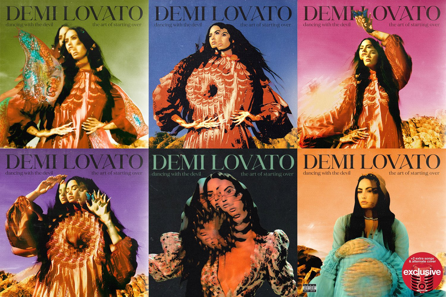 Demi Lovato to release 7th studio album 'Dancing With The Devil: The Art Of Starting  Over' on April 2nd - Page 3 - Music News - BreatheHeavy   Exhale