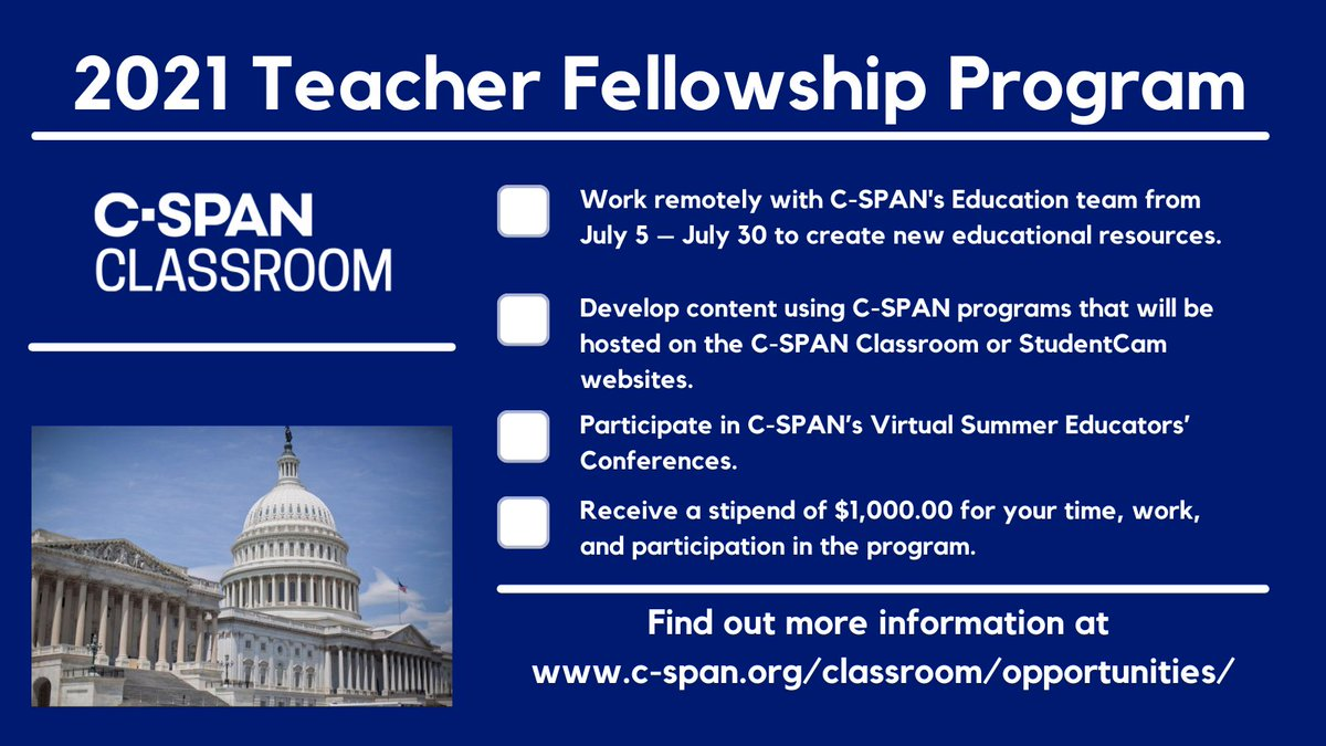 C-SPAN Classroom (@CSPANClassroom) | Twitter
