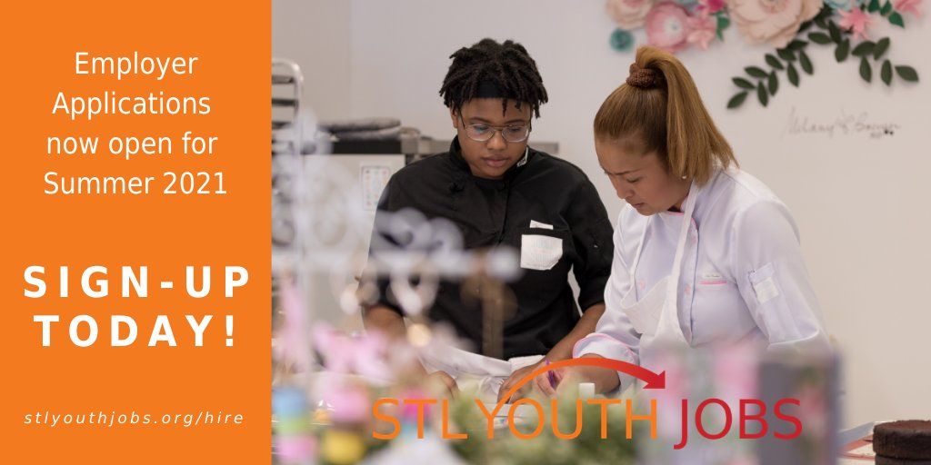 À¦Ÿ À¦‡à¦Ÿ À¦° Stlyouthjobs Our Employer Application Is Open Sign Up Today To Hire Mentor And Connect With Youth To Fulfill Your Summer Staffing Needs Https T Co V5vmnzcjb1 Ages 16 24 Are Connected To Summer Jobs 15 Year Olds Are