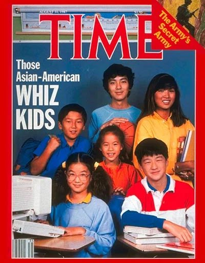 """Our country's overwhelming hate for Asian Americans isn't new. It is as tried and true as putting our hands on our hearts for the red white & blue. White American never called Asian Americans the """"Model Minority"""" on the cover of Time to garner praise. They did it to invite hate."""
