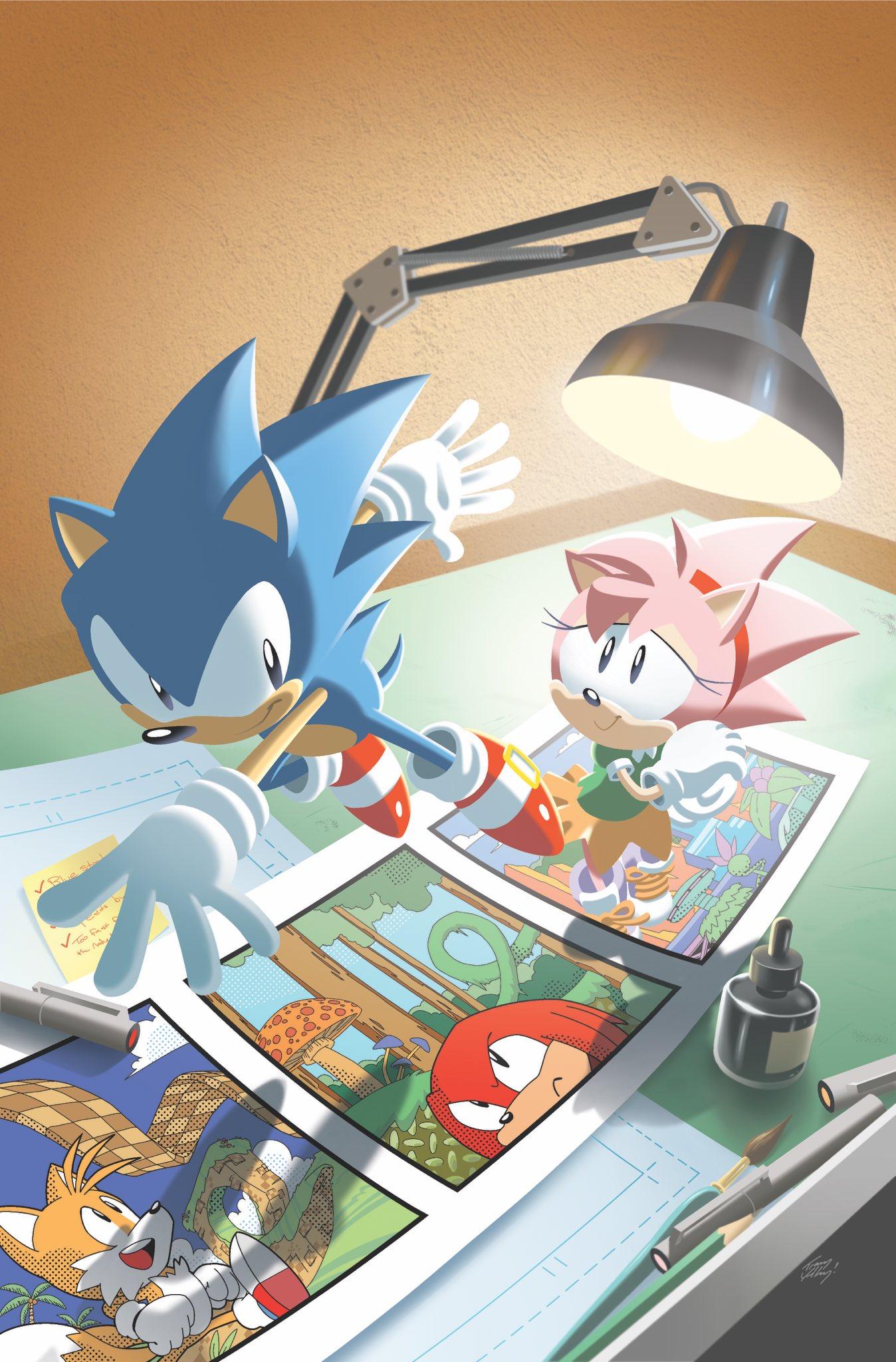 Sonic 30th Comic