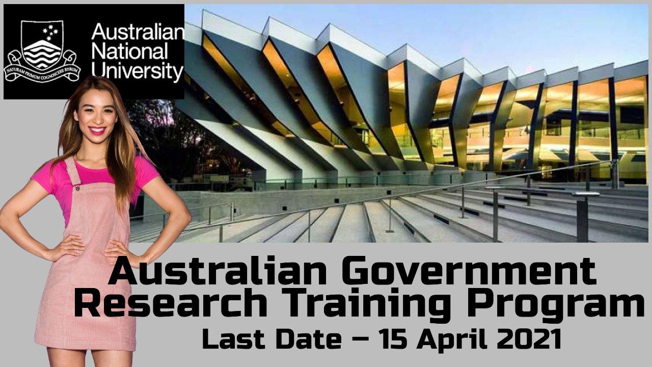 Australian Government Research Training Program (AGRTP), Australia