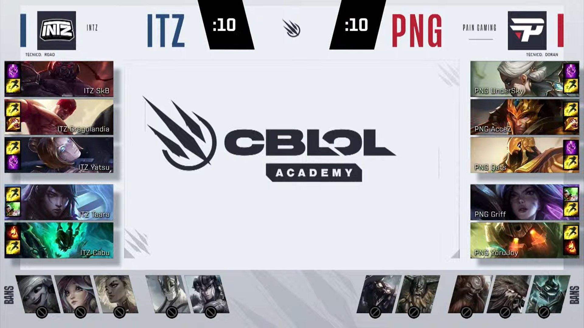 CBLOL Academy – Vorax engata sequência de três vitórias!