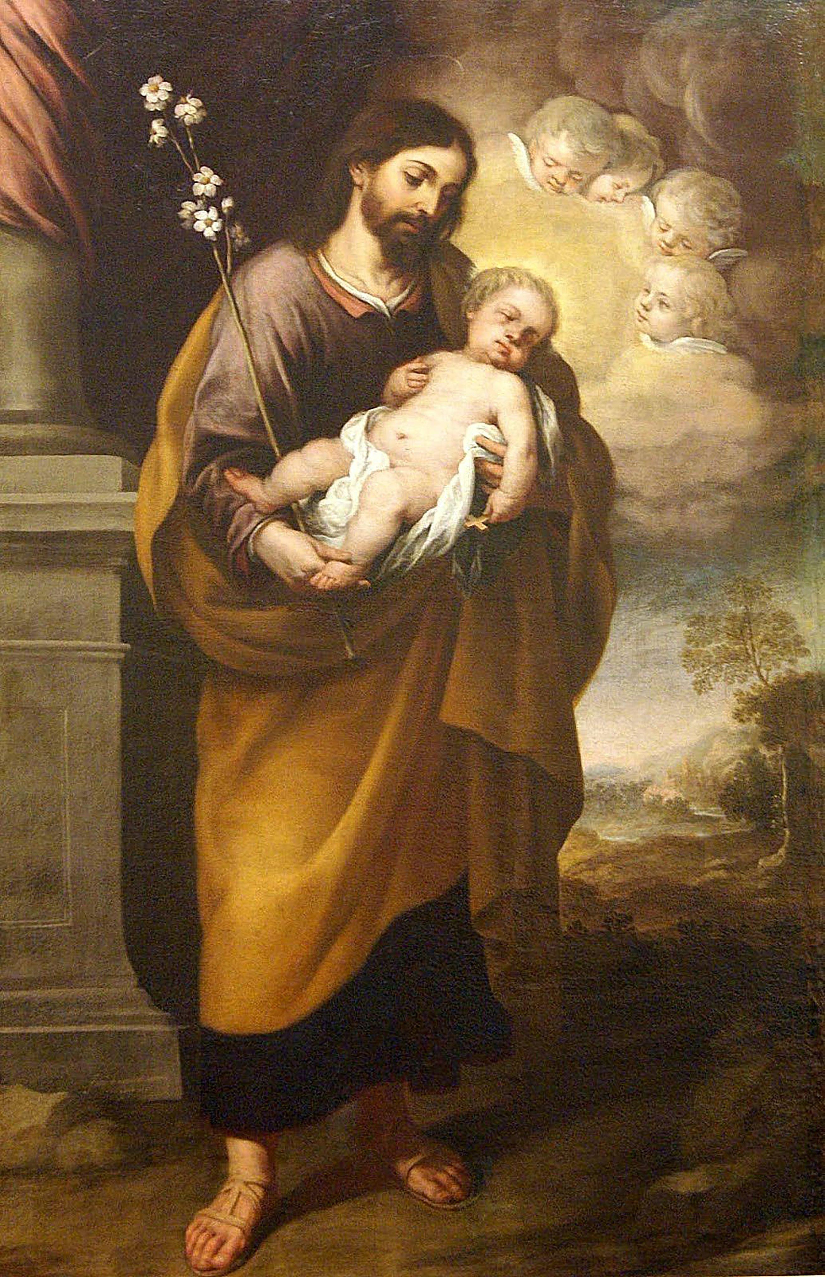 Wallpaper of Saint Joseph