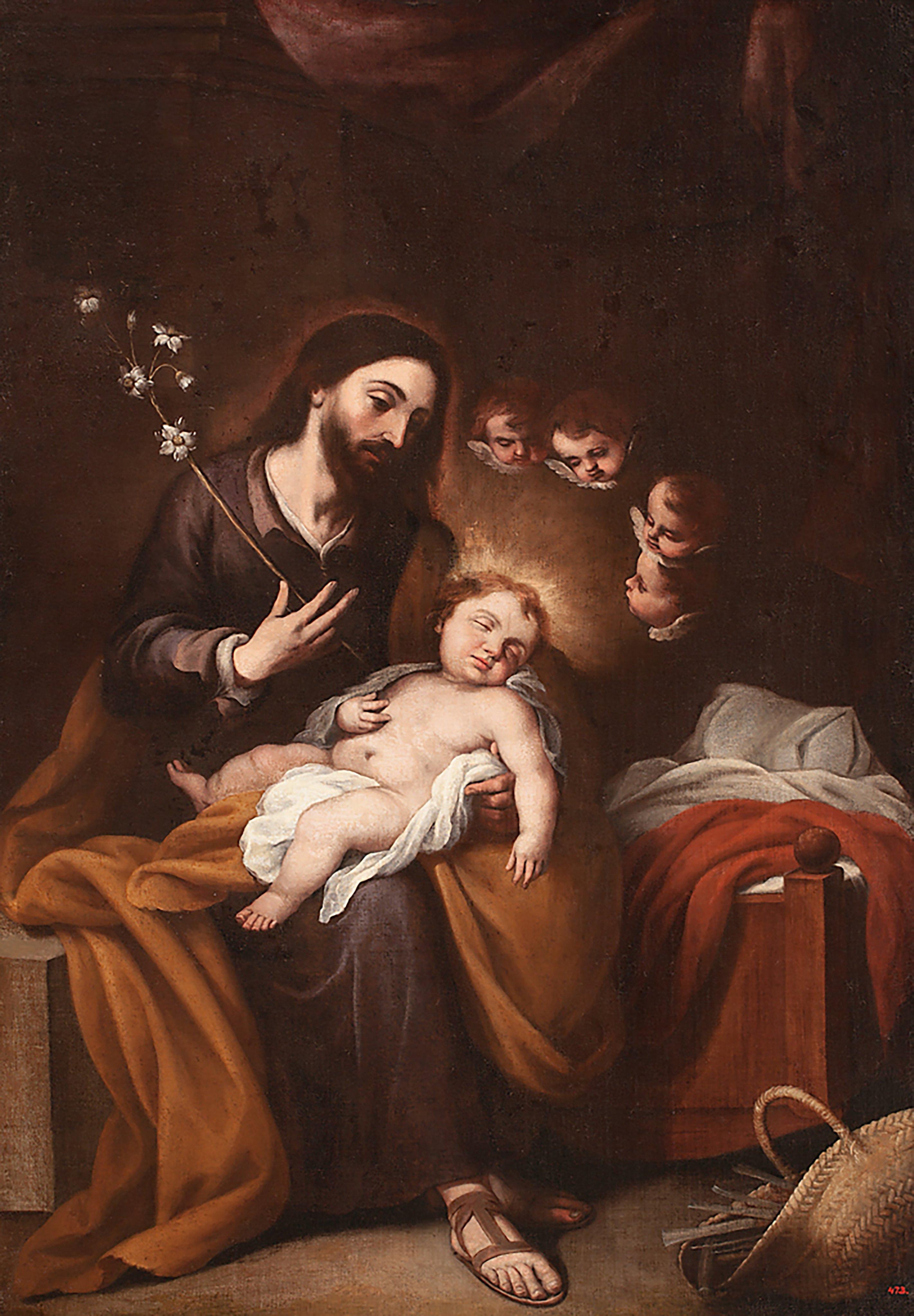 São José com o Menino Jesus