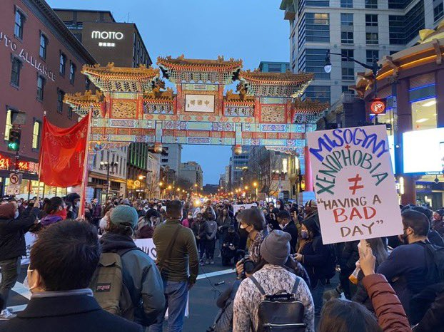 what happened yesterday in Atlanta was brutal, tragic & is certainly not an isolated incident by any means. AAPI hate has been rampantly perpetuated & it's disgusting! I'm heartbroken for the Asian community & my heart is with the loved ones of those we lost. The hate must stop.