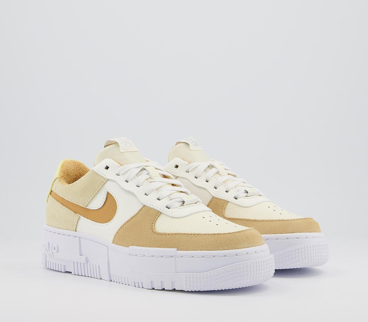 Ad: Last sizes of the new Nike Air Force 1 Pixel 'Coconut Milk':