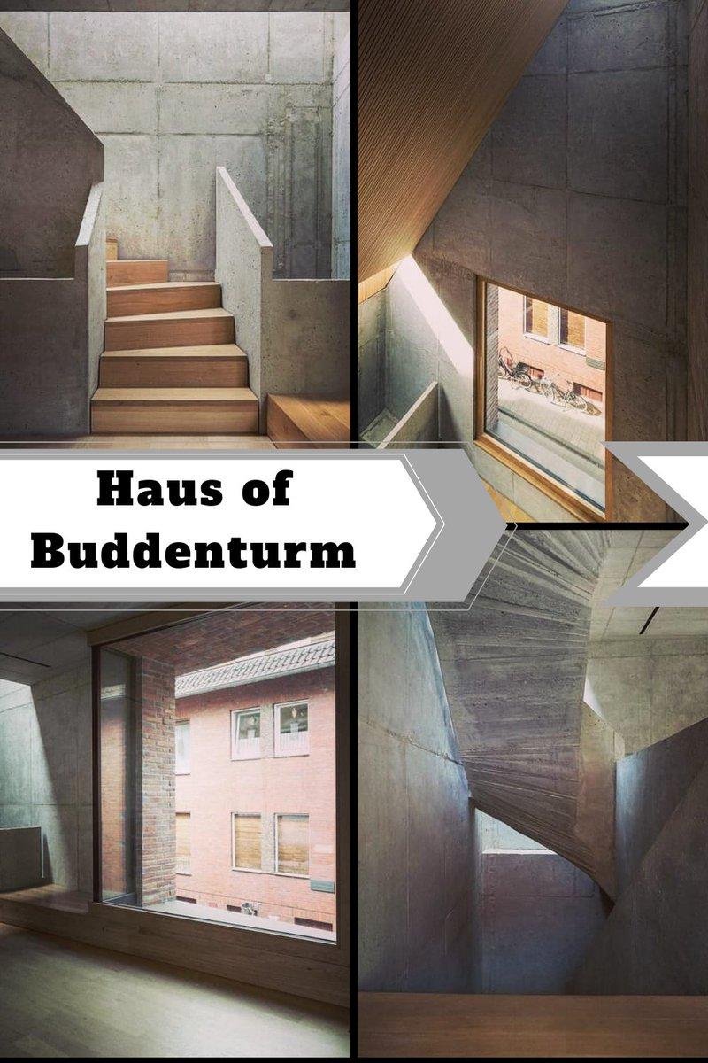House in the Buddenturm | Germany | 2018 🏠🏠🏠  Follow : @architectsstyle  Visit us:- https://t.co/PzrhWIT4Hz  #Germany #architecture #Haus #Buddenturm #amazinghome #sunlight #Home #house #architechture #architecturesstyle https://t.co/5IhJxu0RrN