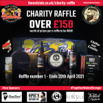 Image for the Tweet beginning: Bought your iBeardClub/Lions charity raffle