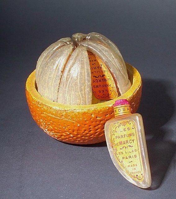 これは超激レア⁉これが1900年代初頭のオレンジの香りの香水‼