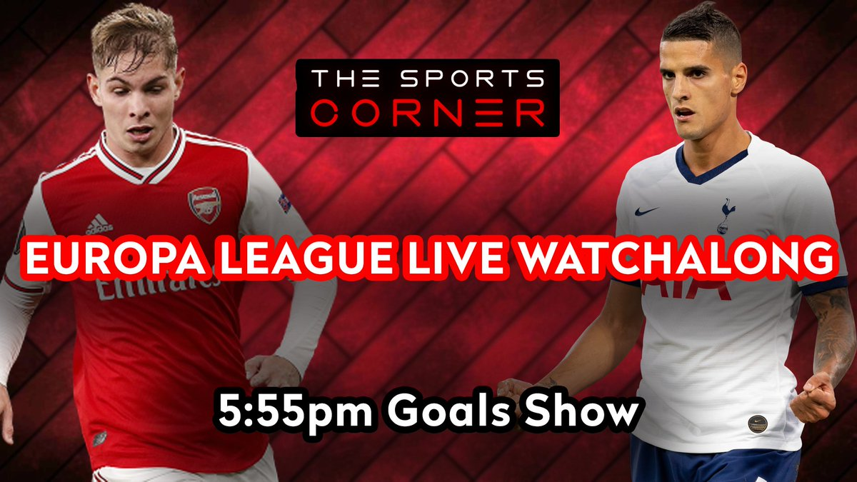 🚨 LIVE WATCHALONG! 🚨  ⚽️ As the Round of 16 concludes - could we see some shock results and potential UEL classics with four big matches!   📹 Our UEL Goals Show is LIVE in 15 MINS! https://t.co/SDwqPzteCO  #UEL #EuropaLeague #ARSOLY #Spurs #ASRSHK #AJABSC #UEFA https://t.co/jJFbQ9bGkR