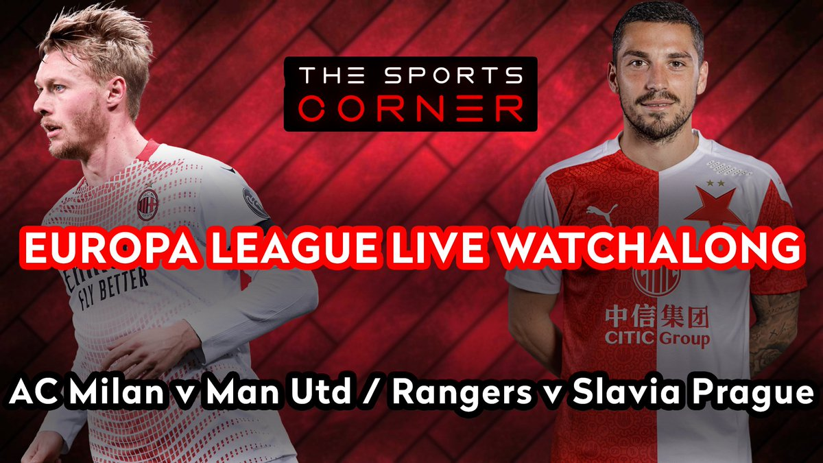 🚨 LIVE WATCHALONG! 🚨  ⚽️ As the Round of 16 concludes - Which two of these four high-quality sides will make the UEL Quarter-Finals?  📹 Our Evening UEL Goals Show is LIVE in 15 MINS! https://t.co/F1LbsyVcCH  #UEL #EuropaLeague #ACMMUN #RANSLA #Rangers #ManUtd #UEFA https://t.co/acRiREQTw7