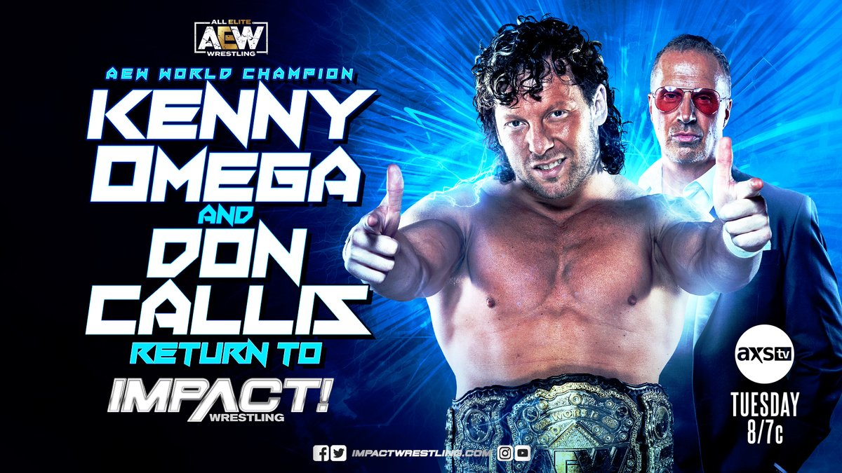 Kenny Omega Announced For Tuesday's Impact Wrestling