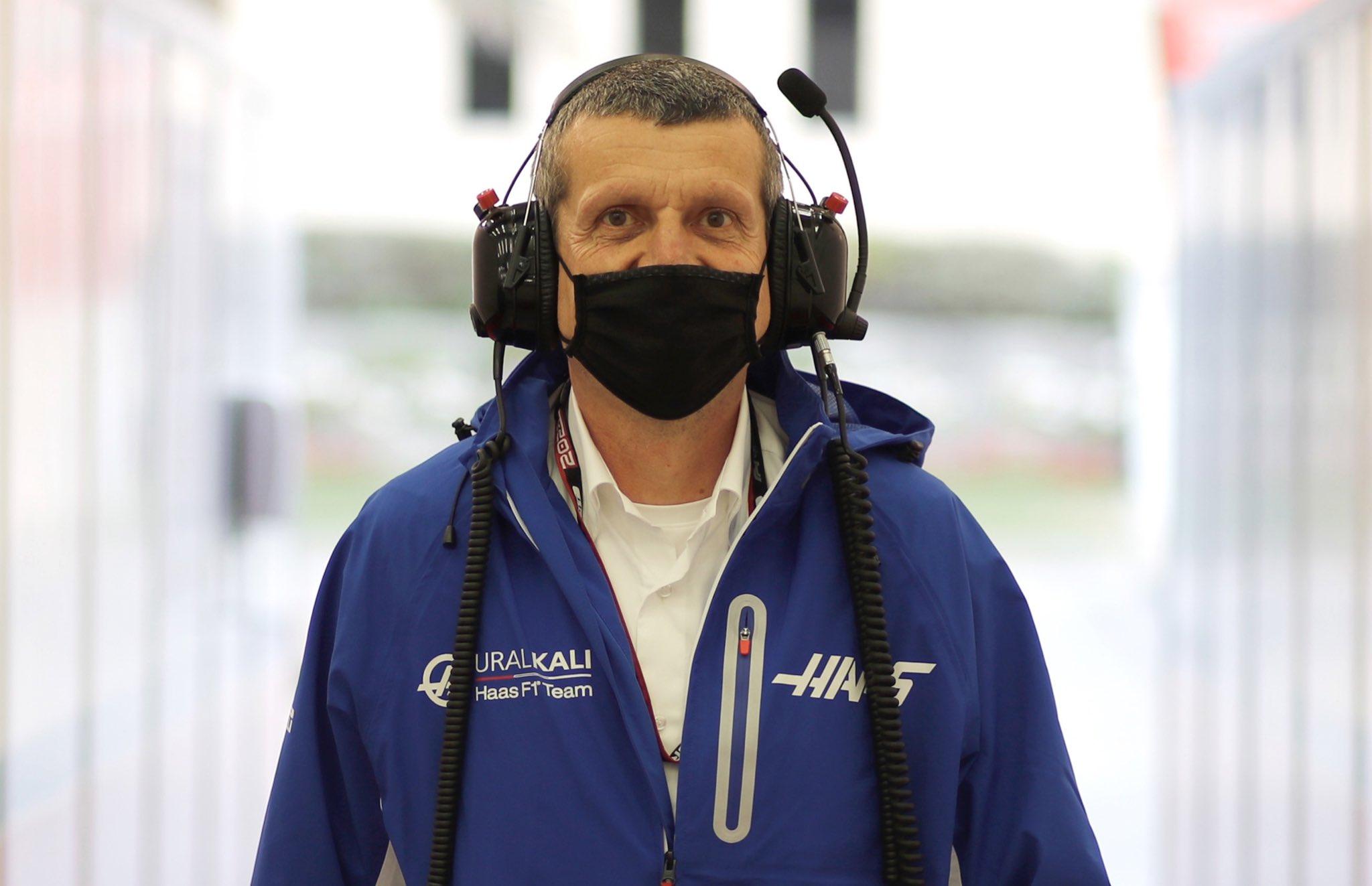 Gunther Steiner, szef Haasa