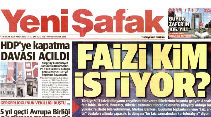 """BirGün Gazetesi on Twitter: """"#SonDakika Merkez Bankası faiz kararını  açıkladı https://t.co/7nZVRayfJD… """""""