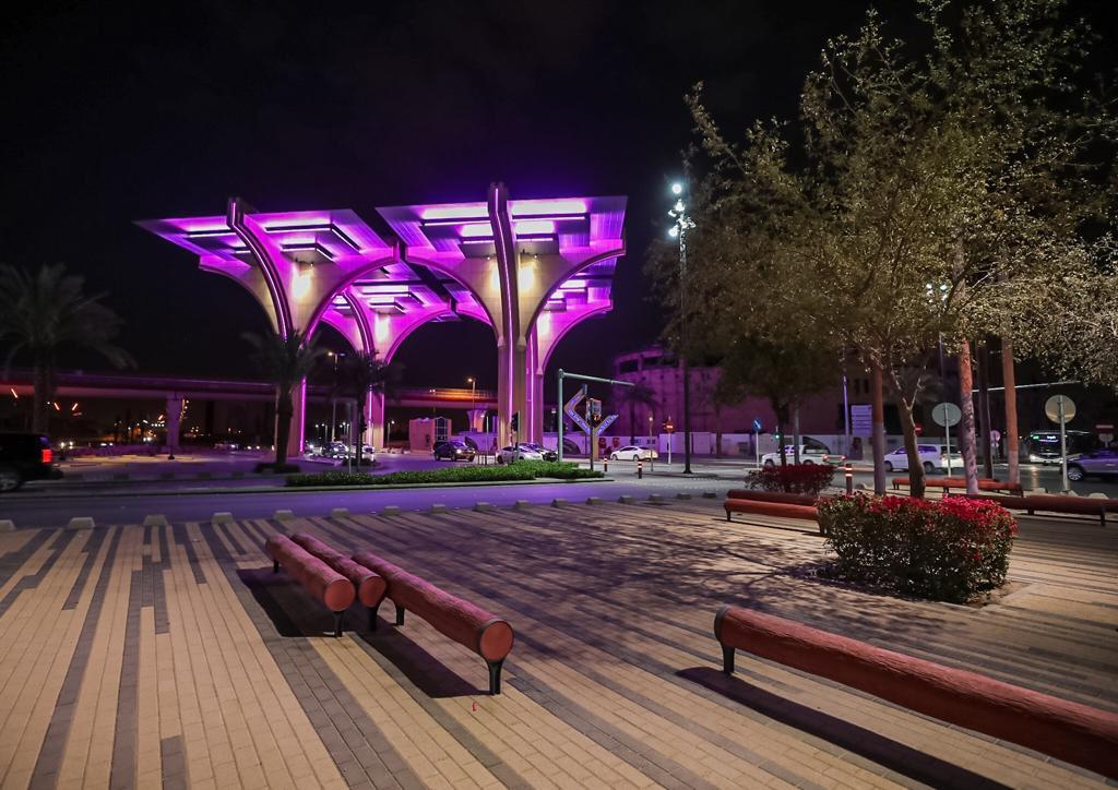 احتفال نور الرياض 2021 ,اضواء
