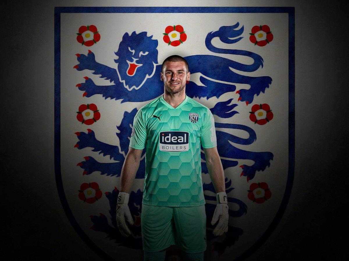 Sam Johnstone has made his full England debut.